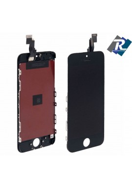 TOUCH SCREEN VETRO SCHERMO + LCD Display Assemblato PER iPhone 5C nero