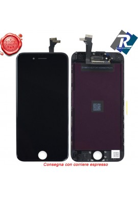 Display LCD Retina Touch Screen Vetro Schermo Apple iPhone 6 G Nero + attrezzi
