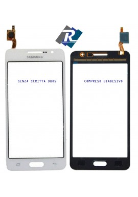 Touch Screen Vetro Vetrino per Samsung Galaxy CORE PLUS SM-G350 G3500 Bianco