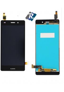 TOUCH SCREEN VETRO LCD DISPLAY Per Huawei Ascend P8 Lite ALE-L21 Nero