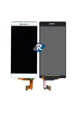 TOUCH SCREEN VETRO LCD DISPLAY Per Huawei Ascend P8 Bianco