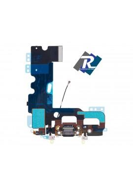 Flex Flat Dock Connettore Ricarica Microfono Dati Antenna per iPhone 7 Nero