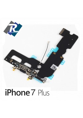 Flex Flat Dock Connettore Ricarica Microfono Dati Antenna iPhone 7 plus Nero