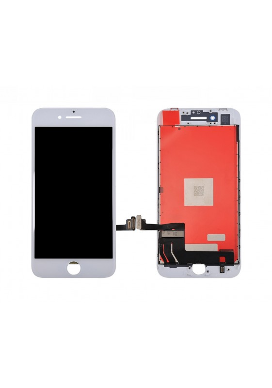Display LCD Retina HD ORIGINALE Touch Screen Vetro Schermo Apple iPhone 8 Bianco