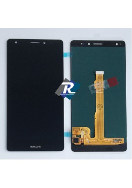 TOUCH SCREEN VETRO LCD DISPLAY HUAWEI Mate S CRR-L09 CRR-UL00 NERO NO FRAME