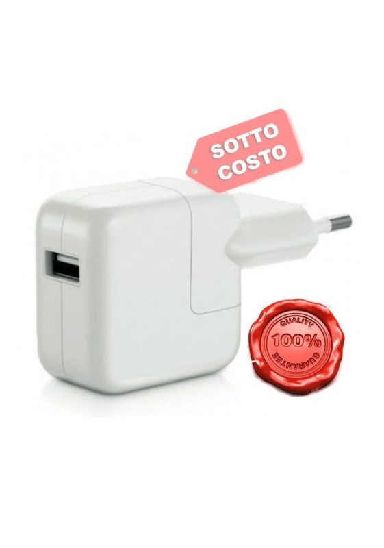 Caricabatteria Alimentatore per Apple ipad 5 Air 2 iPad 4 3 2 Mini 12W 12 watt