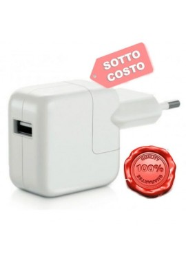 Caricabatteria Alimentatore per APPLE IPAD IPHONE 6 RETINA 12w 12 WATT