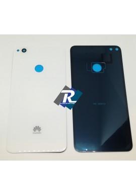 COPRI BATTERIA SCOCCA POSTERIORE VETRO Huawei P8 Lite 2017 PRA-LA1 - LX1 - LX3 Bianco