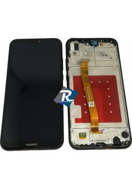 TOUCH LCD DISPLAY Huawei P20 Lite Nero ANE-LX1 ANE-LX2 ANE-LX3 + FRAME