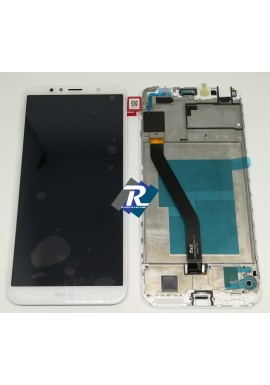 TOUCH SCREEN LCD DISPLAY Huawei Y6 2018 ATU-L21 Bianco + Frame