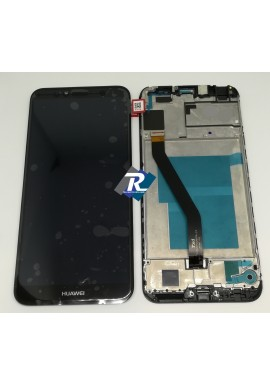 TOUCH SCREEN LCD DISPLAY Huawei Y6 2018 ATU-L21 Nero + Frame