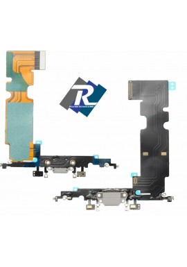 Flex Flat Dock Connettore Ricarica Microfono Dati Antenna iPhone 8 plus Bianco