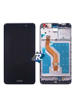 TOUCH SCREEN LCD DISPLAY Huawei Y7 2017 TRT-LX1 LX3 NOVA LITE PLUS Nero + FRAME