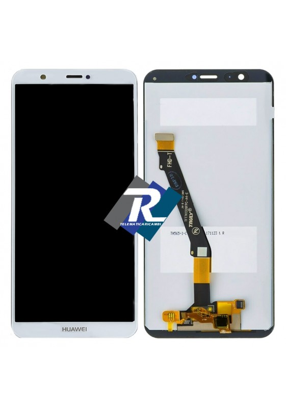 TOUCH SCREEN LCD DISPLAY Huawei P smart FIG-LX1 FIG-LA1 FIG-LX2 Bianco NO Frame