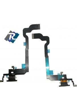 Flex Flat Dock Connettore Ricarica Microfono Dati Antenna iPhone X Nero