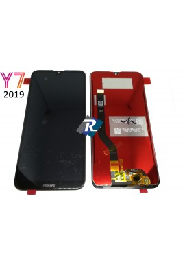 TOUCH SCREEN LCD DISPLAY Huawei Y7 2019 DUB-LX1 LX2 L22 Nero NO Frame