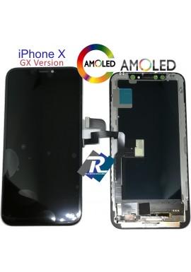 Display LCD AMOLED Touch Screen Vetro Schermo Apple iPhone X Vers. GX Originale