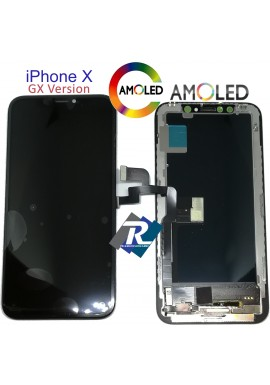 Display LCD AMOLED Touch Screen Vetro Schermo Apple iPhone X