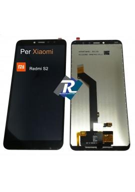 TOUCH SCREEN VETRO LCD DISPLAY PER XIAOMI REDMI S2 NERO M1803E6G No Frame