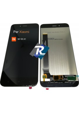 TOUCH SCREEN VETRO LCD DISPLAY PER XIAOMI MI 5X A1 MI5X MIA1 MDG2 NERO NO FRAME