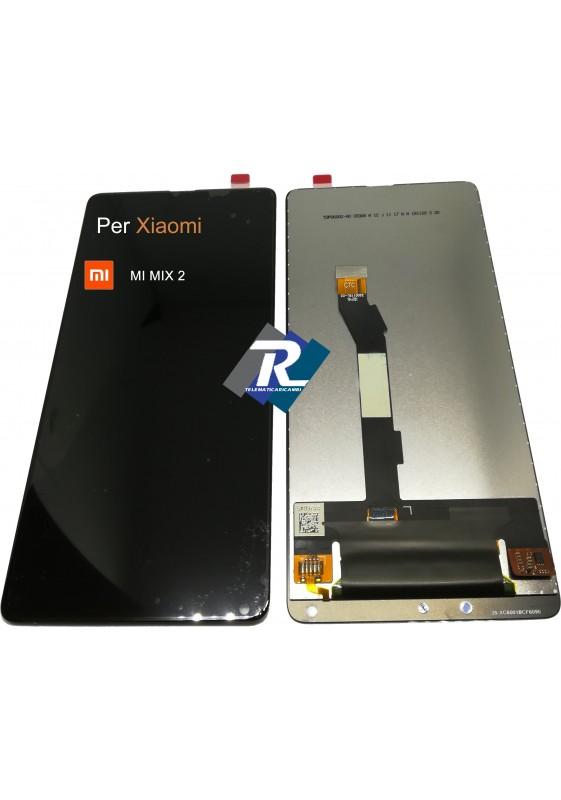 TOUCH SCREEN VETRO LCD DISPLAY PER XIAOMI MI MIX 2 NERO