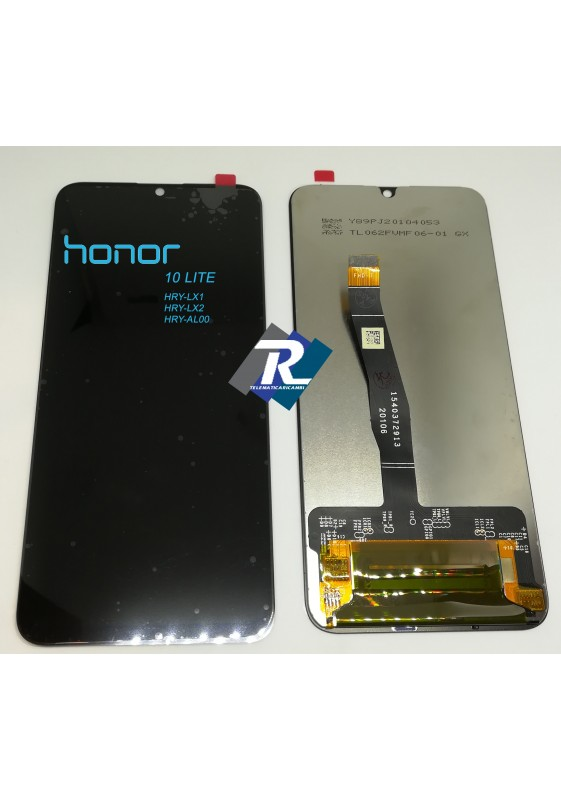 TOUCH LCD DISPLAY PER HUAWEI HONOR 10 LITE HRY-LX1 HRY-LX2 HRY-AL00 NERO