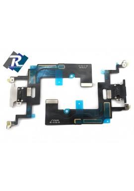 Flex Flat Dock Connettore Ricarica Microfono Dati iPhone XR Bianco