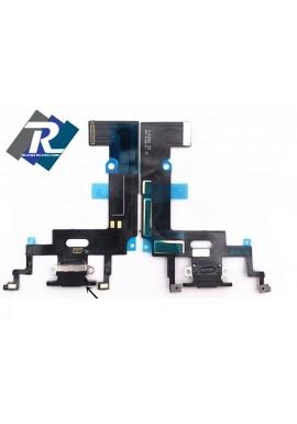 Flex Flat Dock Connettore Ricarica Microfono Dati iPhone XR Nero