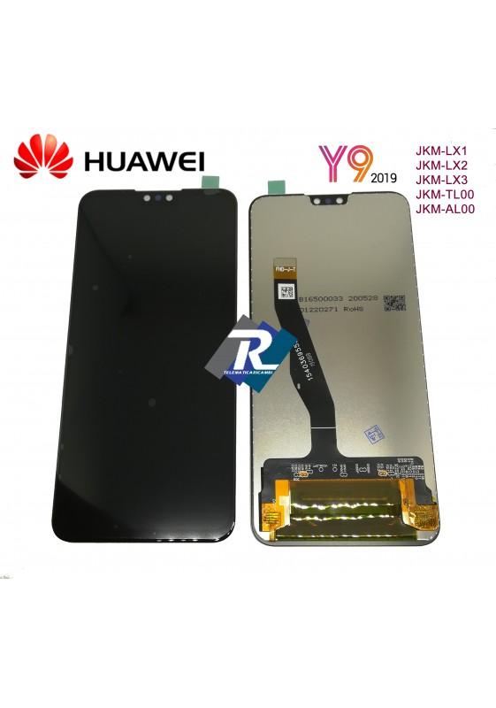 TOUCH SCREEN LCD DISPLAY Y9 2019 JKM-LX1 JKM-LX2 JKM-LX3 NERO NO FRAME