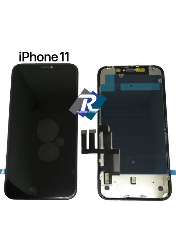 Display LCD Touch Screen Vetro Schermo Apple iPhone 11