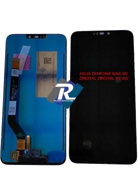 DISPLAY LCD ASUS ZENFONE MAX M2 ZB632KL ZB633KL X01AD TOUCH SCREEN SCHERMO NERO