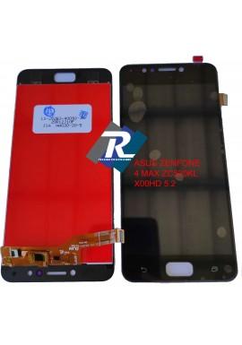 "LCD DISPLAY ASUS ZENFONE 4 MAX ZC520KL X00HD NERO 5.2"" TOUCH SCREEN VETRO"