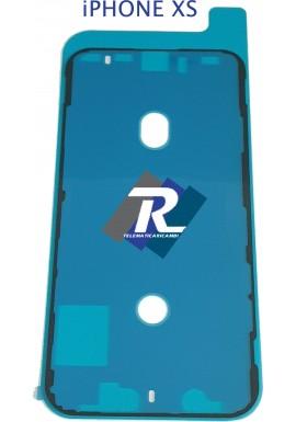 BIADESIVO GUARNIZIONE ANTI INFILTRAZIONE FISSAGGIO LCD DISPLAY APPLE IPHONE XS
