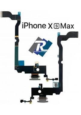 CONNETTORE RICARICA APPLE IPHONE XS MAX A1921 A2101 A2104 DOCK MICROFONO BIANCO