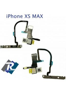 FLEX FLAT TASTO ON OFF POWER ACCENSIONE APPLE IPHONE XS MAX FLASH MICROFONO