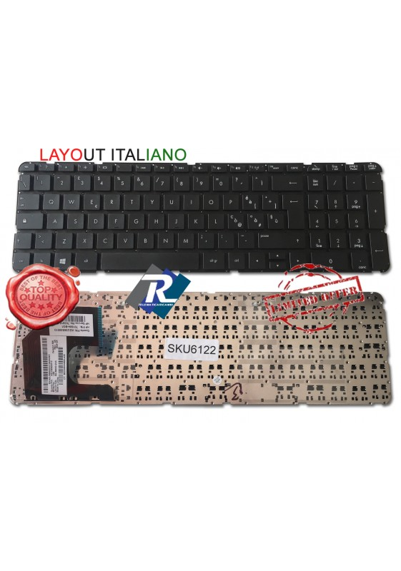 Tastiera ITALIANA HP Pavilion sleekbook 15-B Series NO FRAME