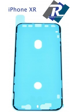 BIADESIVO GUARNIZIONE ANTI INFILTRAZIONE FISSAGGIO LCD DISPLAY APPLE IPHONE XR