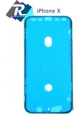 BIADESIVO GUARNIZIONE ANTI INFILTRAZIONE FISSAGGIO LCD DISPLAY APPLE IPHONE X