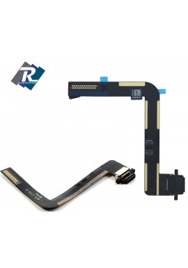 FLEX FLAT CONNETTORE DI RICARICA DOCK CARICA DATI APPLE IPAD AIR NERO iPad 5