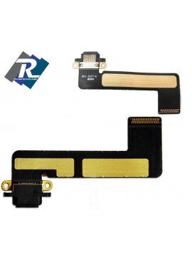 FLEX FLAT CONNETTORE DI CARICA DOCK RICARICA USB DATI PER APPLE IPAD MINI NERO