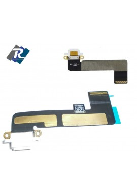 FLEX FLAT CONNETTORE DI CARICA DOCK RICARICA USB DATI PER APPLE IPAD MINI BIANCO