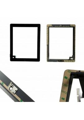 TOUCH SCREEN per Apple iPad 2 Nero Wi-Fi + 3G (GSM CDMA) A1395 A1396 A1397