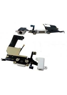 Flex Flat Dock Connettore Ricarica Microfono Antenna Jack Cuffie iPhone 5 Bianco