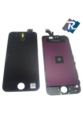 TOUCH SCREEN VETRO SCHERMO + LCD Display Assemblato PER iPhone 5 Nero