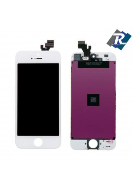 TOUCH SCREEN VETRO SCHERMO + LCD Display Assemblato PER iPhone 5 Bianco