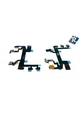 FLEX FLAT TASTO ACCENSIONE ON OFF POWER TASTO VOLUME MUTE PER IPHONE 5S 5 S
