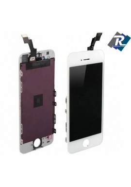 TOUCH SCREEN VETRO SCHERMO + LCD Display Assemblato PER iPhone 5S bianco