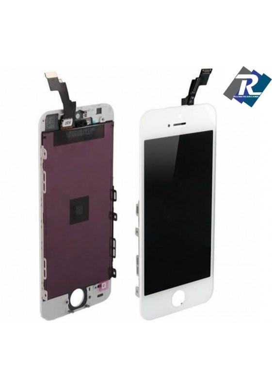 TOUCH SCREEN VETRO SCHERMO + LCD Display Assemblato PER iPhone 5S bianco