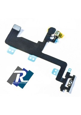FLEX FLAT TASTO ACCENSIONE PULSANTE POWER ON OFF + FLASH PER APPLE iPhone 6