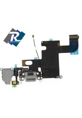 Flex Flat Dock Connettore Ricarica Microfono Jack Cuffie dat per IPHONE 6 Bianco